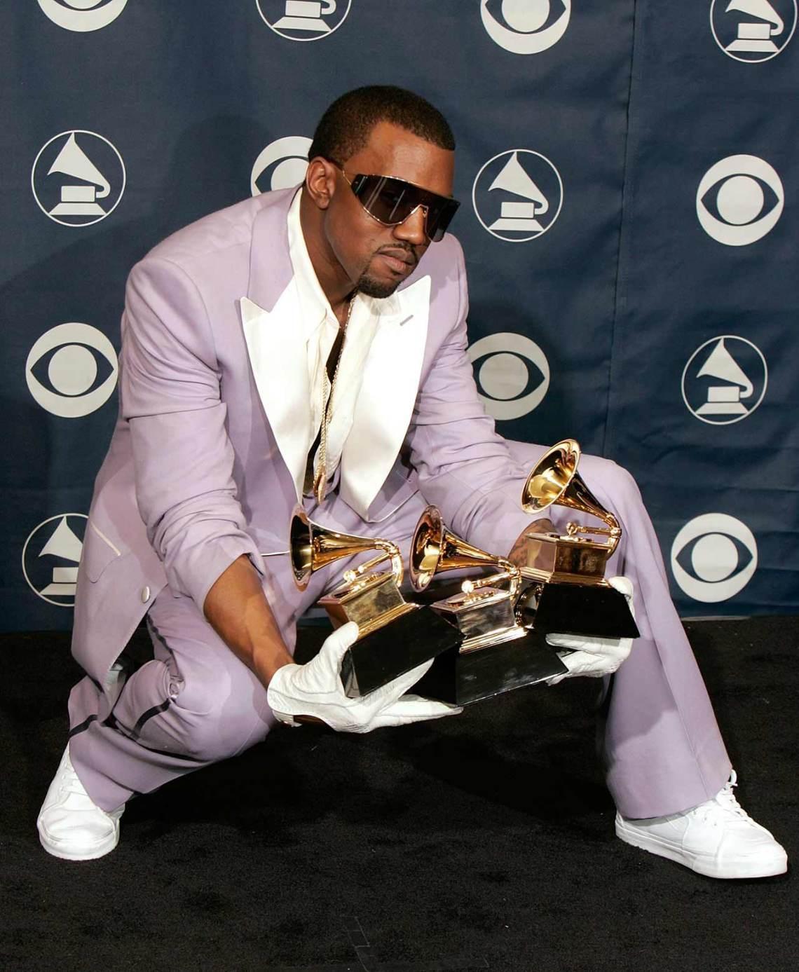 Kanye West in the Vans Sk8-Hi