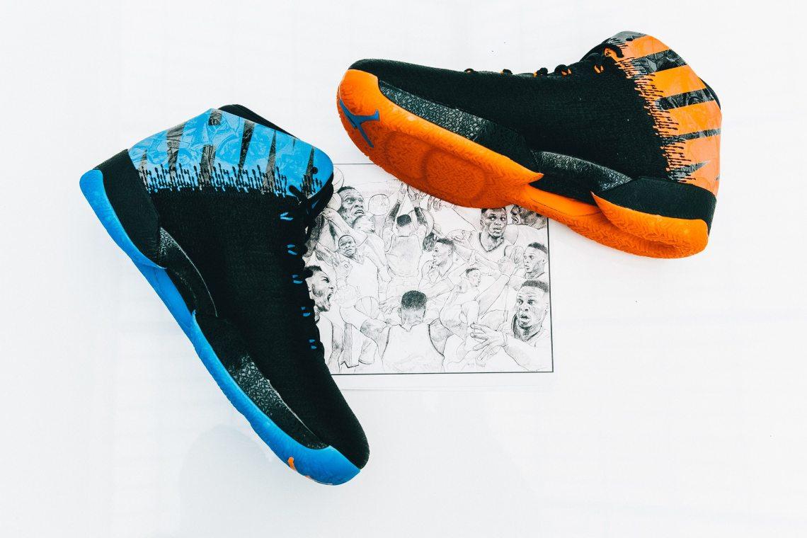 Russell Westbrook's Air Jordan XXX1/10/10 PE Pack