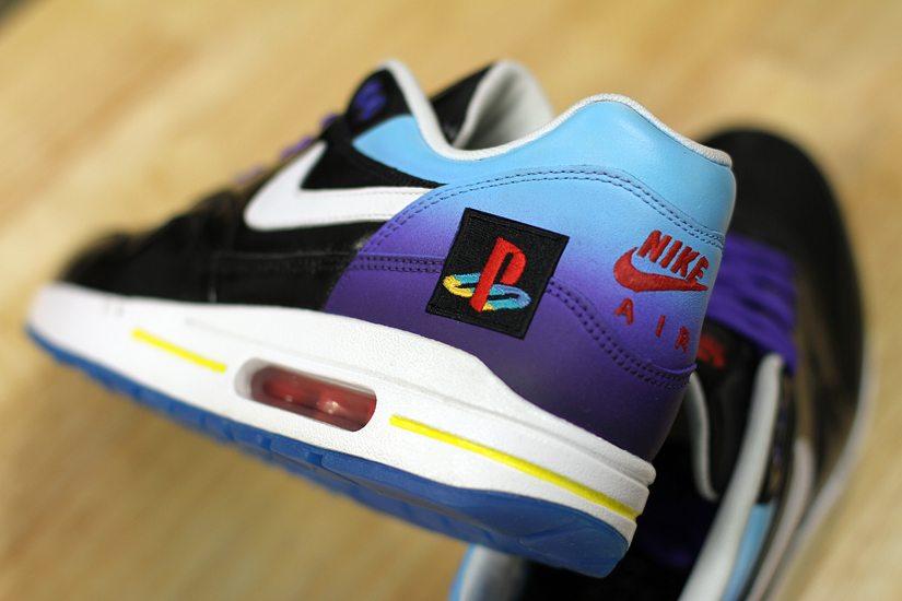 "Nike Air Max 1 ""Playstation"" Custom by Dank Customs"
