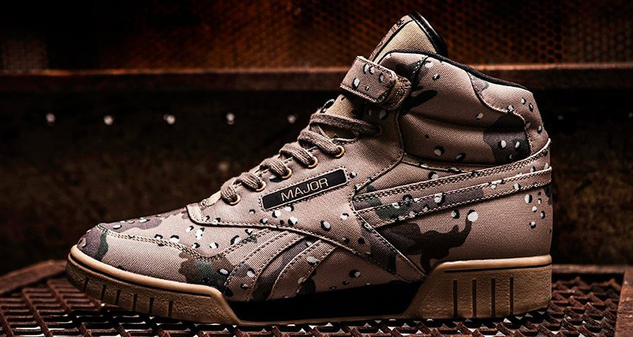 "MAJOR x Reebok Ex-O-Fit ""Street Fitness"""