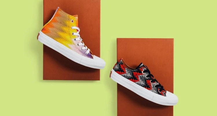 Missoni x Converse Chuck Taylor All Star II