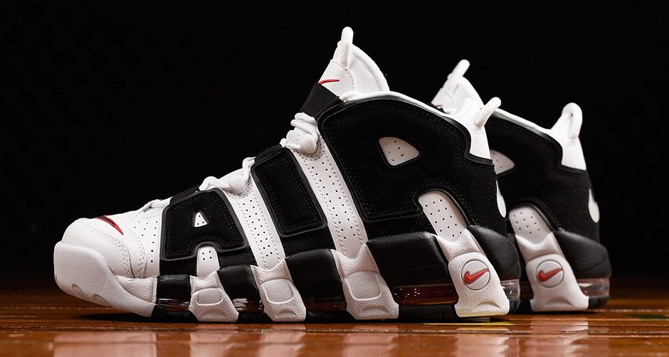 sports shoes 6450b 4cfa1 Scottie Pippens Logo Returns on New Nike Air More Uptempo Colorway