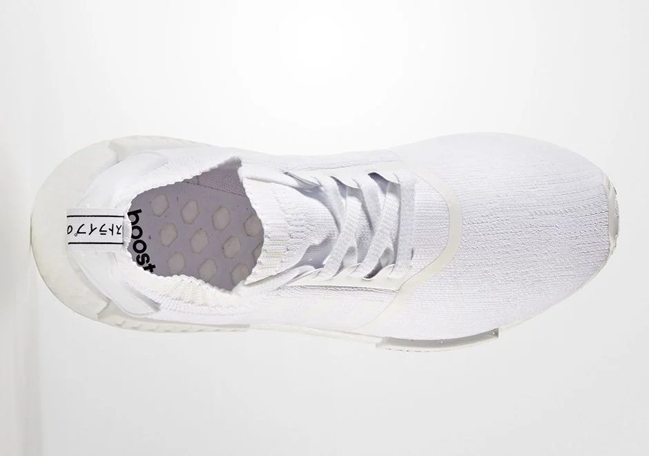 e716be11f87d5 Adidas NMD R1 Runner White Rose White Pink BY9952 Women's