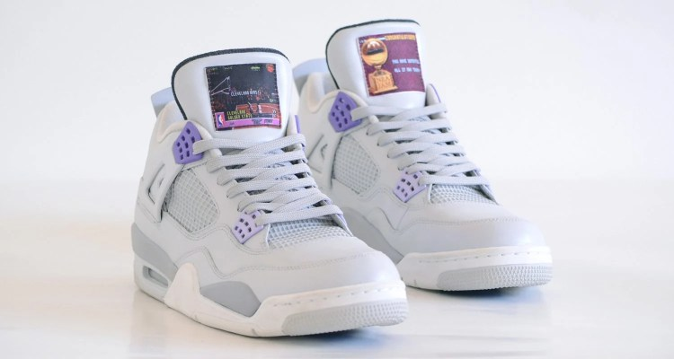 "Air Jordan 4 ""US Super Nintendo"" Custom"