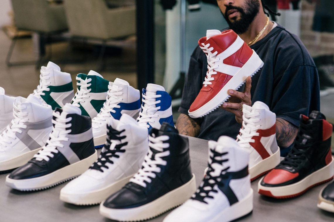 Fear of God BBall High Top