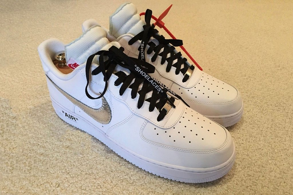 Air Force One Low Black Signed Lebron James Shoes