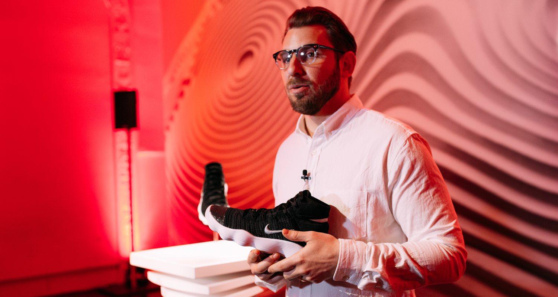 9b0b518e50fe Interview    Behind the Design of the Nike REACT Hyperdunk 2017 Flyknit