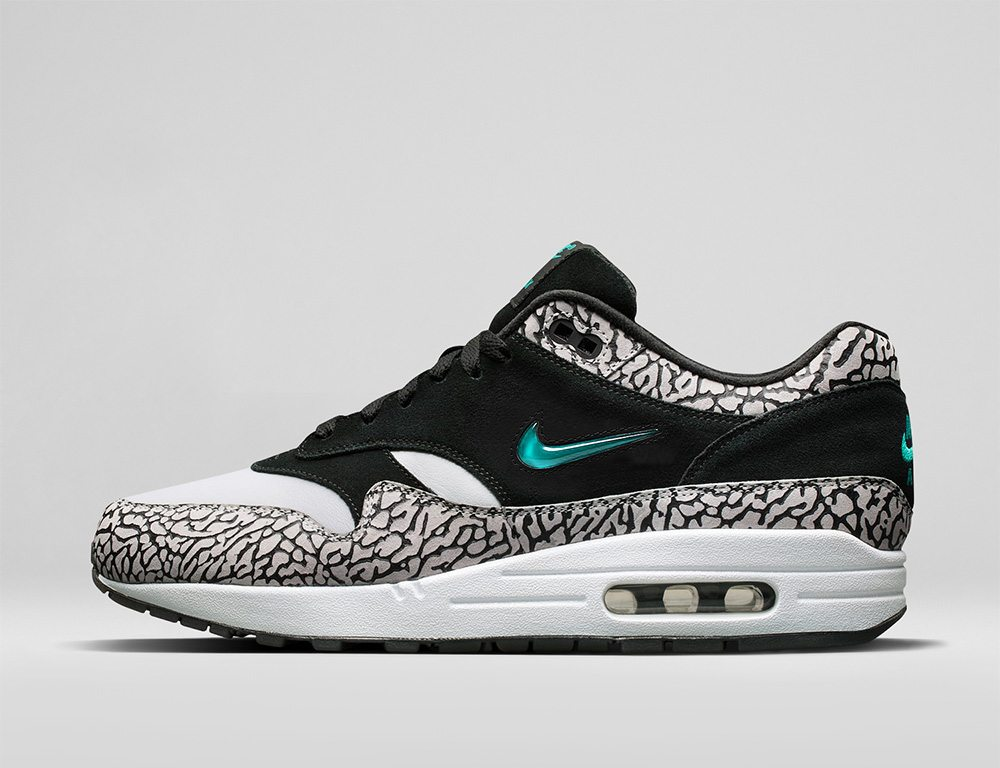 "Atmos x Nike Air Max 1 ""Elephant"" Jewel"