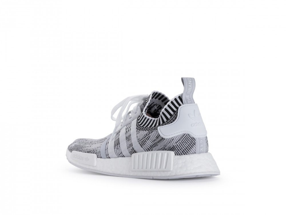 Adidas NMD R1 PK BY1911 Glitch Camo Grey Primeknit Boost Black