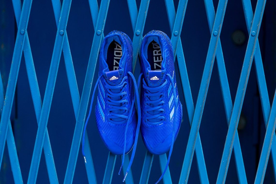 """low priced f1d5d af05f The adidas adizero Afterburner """"Dipped"""" Cleat Collection drops on August 1  for  100 at adidas.com."""