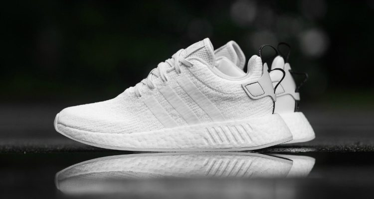 4df5b0bbd9524 adidas NMD R2 Primeknit White Black BY3015 Release Date
