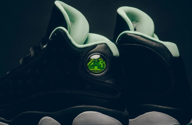 e4fa9efe3778b7 Air Jordan 13 Retro GG Black Metallic Gold-Mint Foam ...