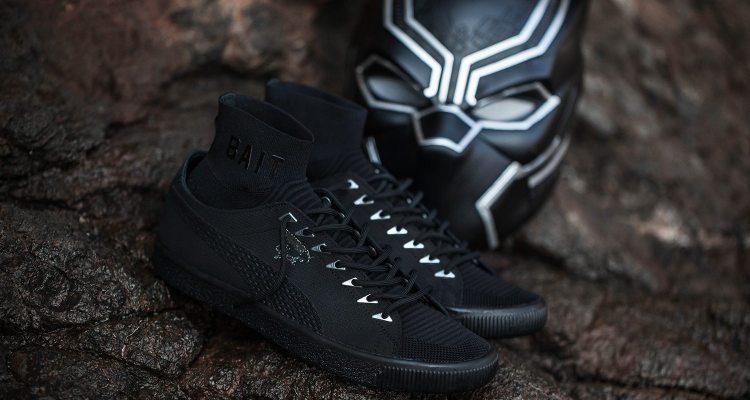 155cef35323173 BAIT x Marvel Black Panther x PUMA Clyde Sock