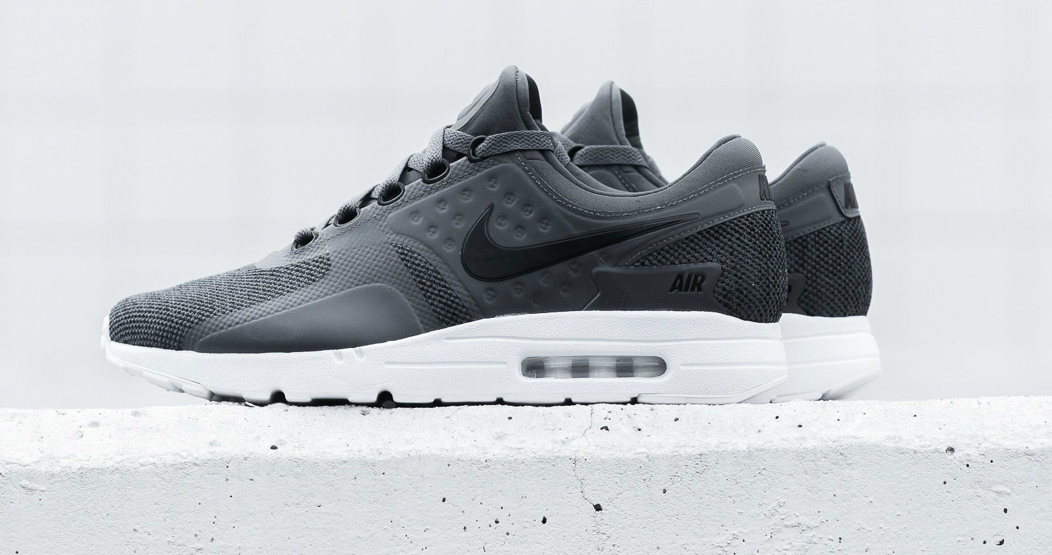 "on sale 075e2 7c03c Nike Air Max Zero SE ""Dark Grey""    Available Now"
