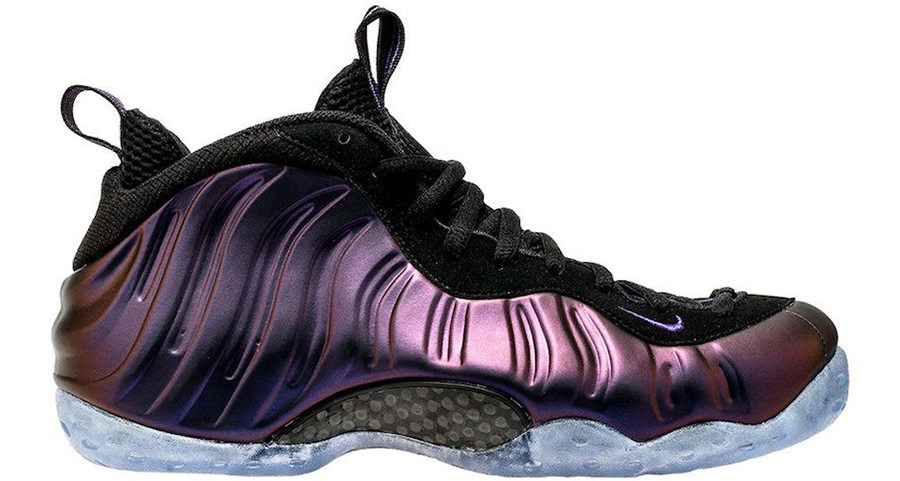 weight of nike air foamposite