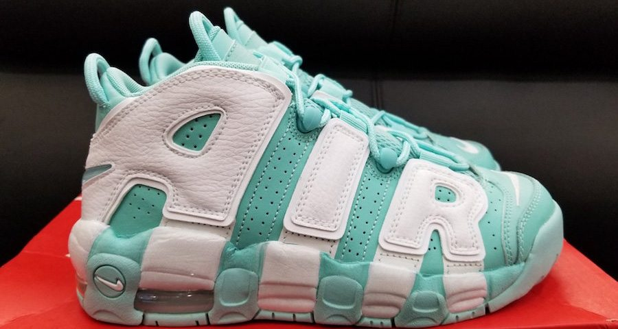 "Nike Air More Uptempo ""Island Green"" Drops Later This Month"