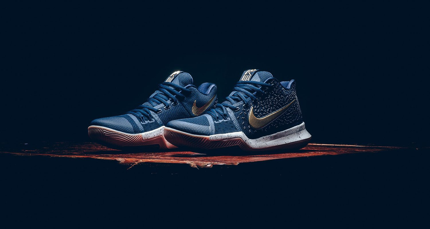 new arrival 454d4 93cfb Nike Kyrie 3 Obsidian Metallic Gold    Release Date