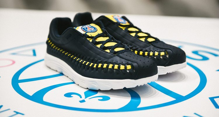 "b496ca14630f5 Paris Saint-Germain and Shoe Gallery Create Special Edition Nike Mayfly  Woven ""PSG"""