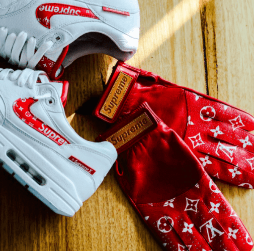 Supreme X Louis Vuitton Collection Inspires Air Max 1 Custom Nice