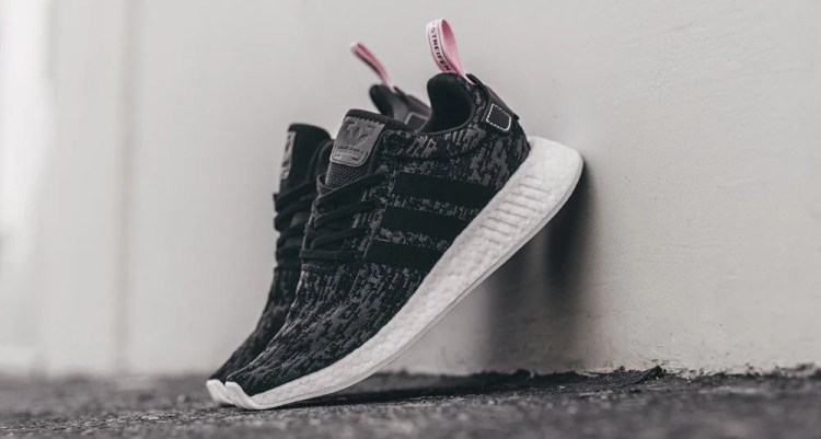 adidas NMD R2 Core Black/Pink