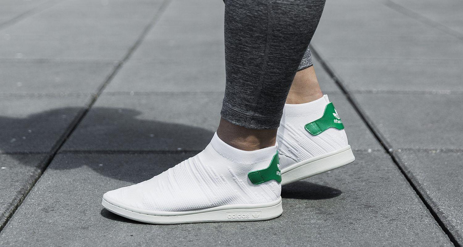 sports shoes 6a9e0 5aab7 adidas Stan Smith Sock PK Drops in Traditional Colorway for ...