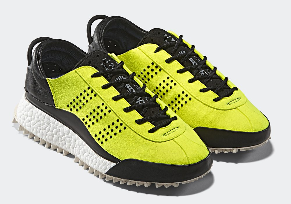 Alexander Wang x Adidas 2017 Hike Lo Neon Sneakers pick a best online buy cheap high quality cheap sale recommend qBqtTFes
