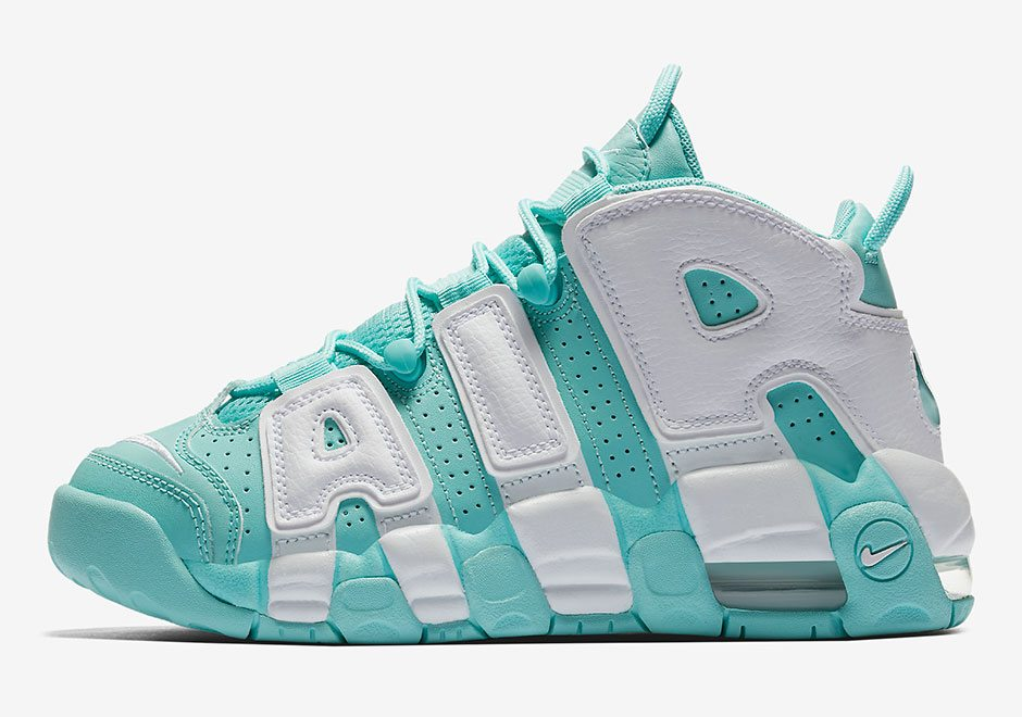"Nike Air More Uptempo GS ""Island Green"""
