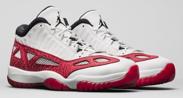 "Air Jordan 11 Low IE ""Fire Red"""