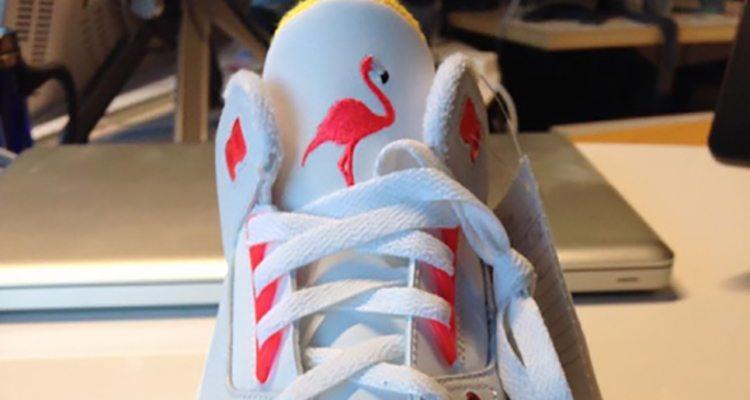"Air Jordan 3 ""Lotto"" Sample"