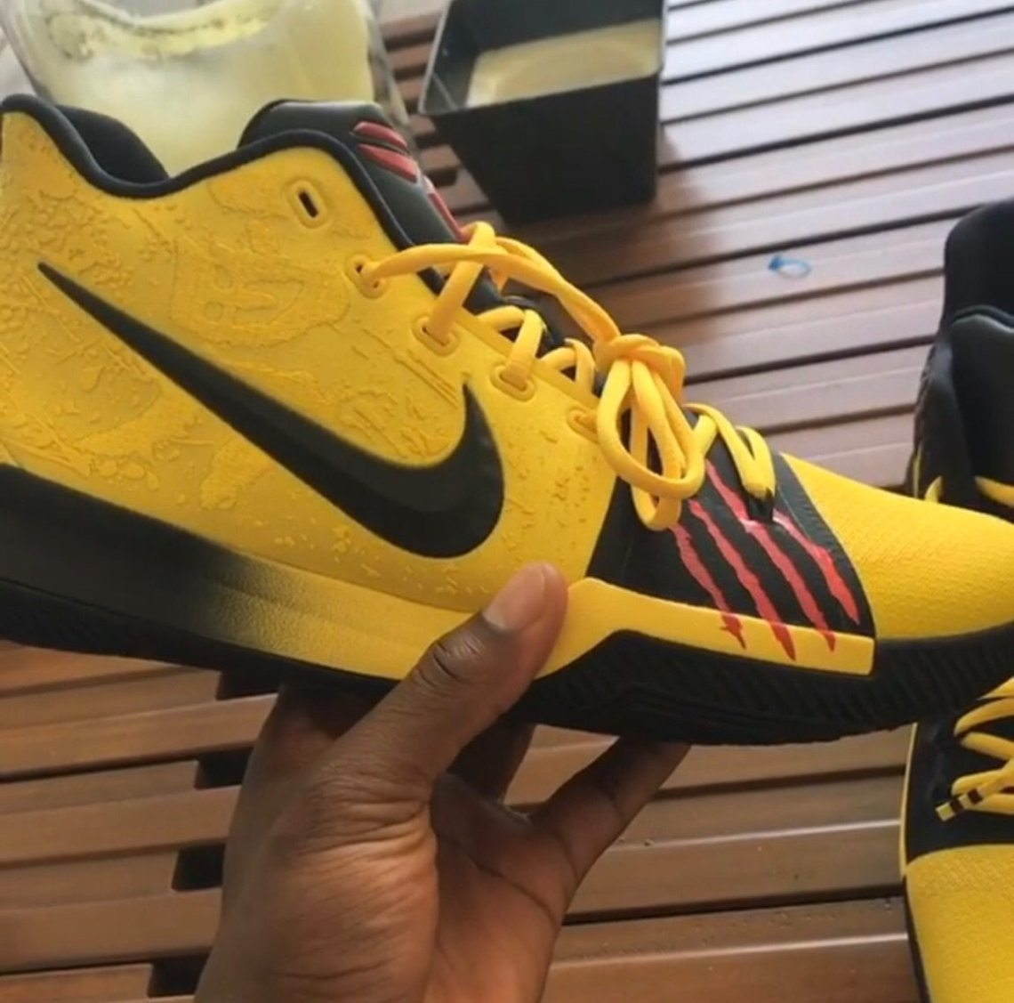 """cc208dcc7f12 Kyrie Irving Reveals Nike Kyrie 3 """"Bruce Lee"""" Inspired by Kobe Bryant"""