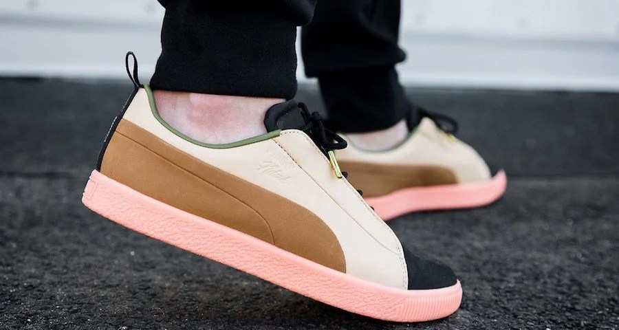 another chance 192cc 6474a Naturel x PUMA Clyde FSHN