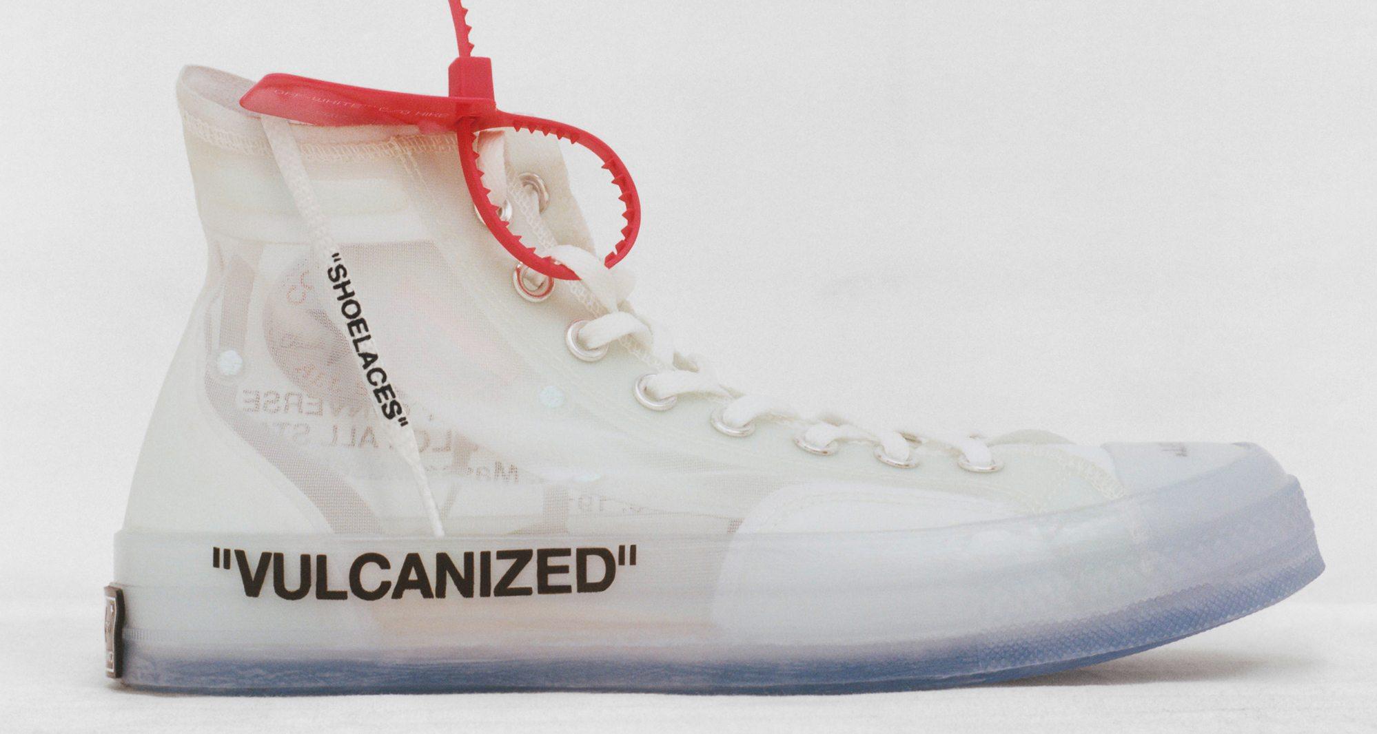 Off-White x Converse Chuck Taylor    Release Date  c0cc1f0621