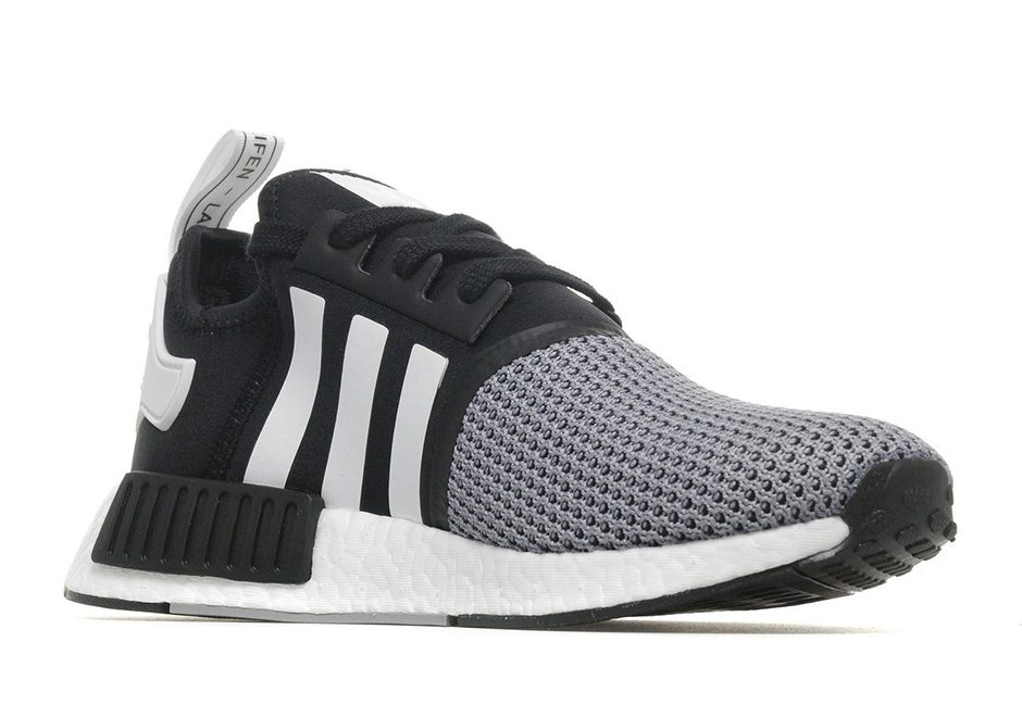 e09dbab9a adidas NMD R1 Gets Monochrome Black White Execution