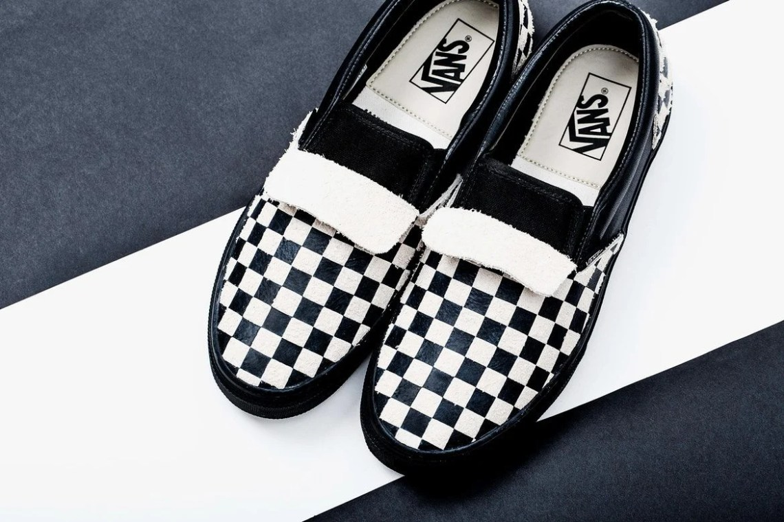 06a795c8b873 N.HOOLYWOOD and Vans Releasing Checkerboard Slip-On Pack | Nice Kicks