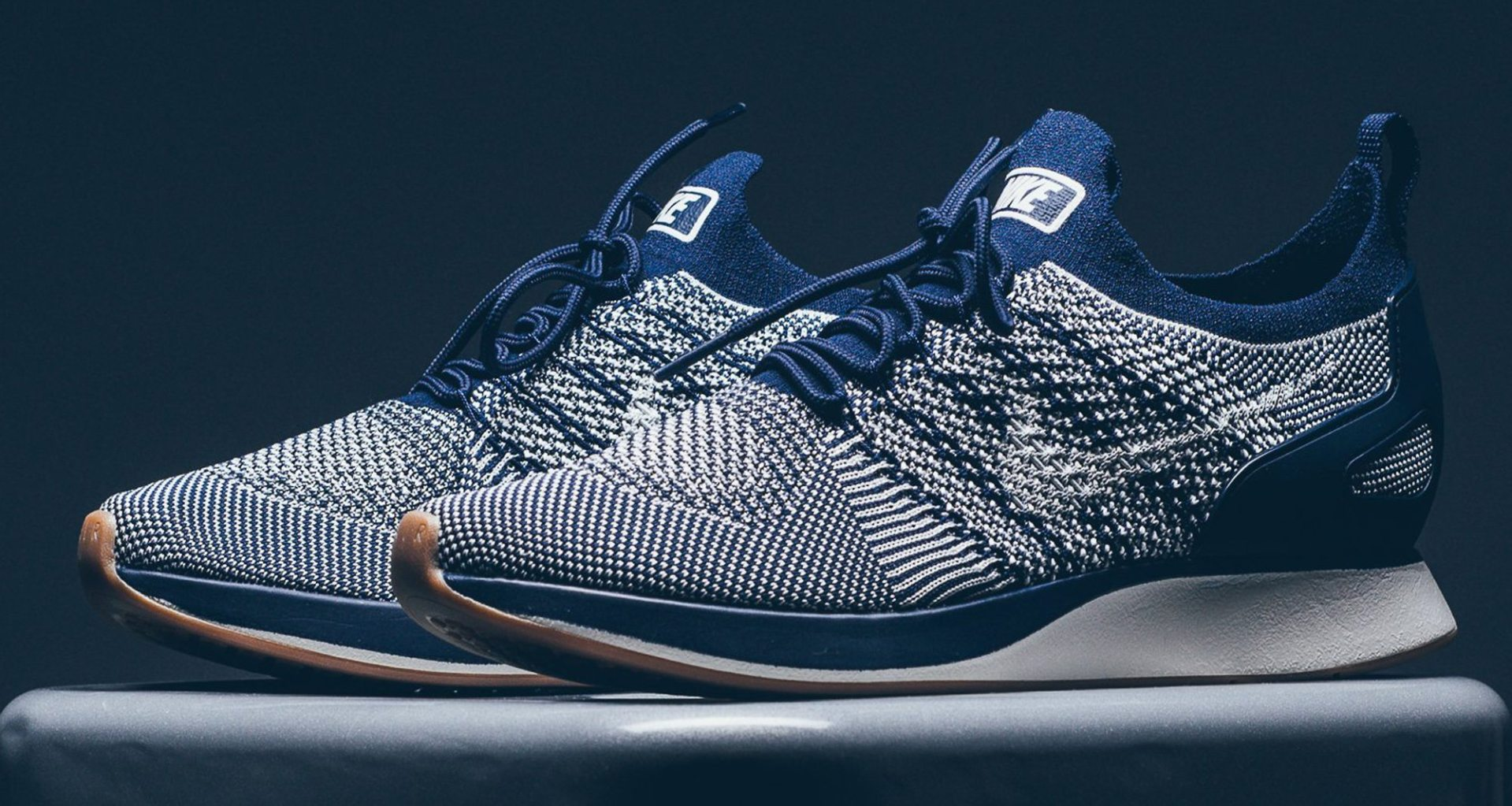 """pretty nice 0b34d 50d6a Nike Air Zoom Mariah Flyknit Racer """"College Navy""""  Available Now"""