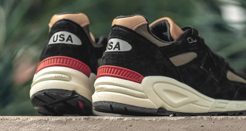 info for b907f 7a103 New Balance 990 'Made in USA'. Available now in Black and Green