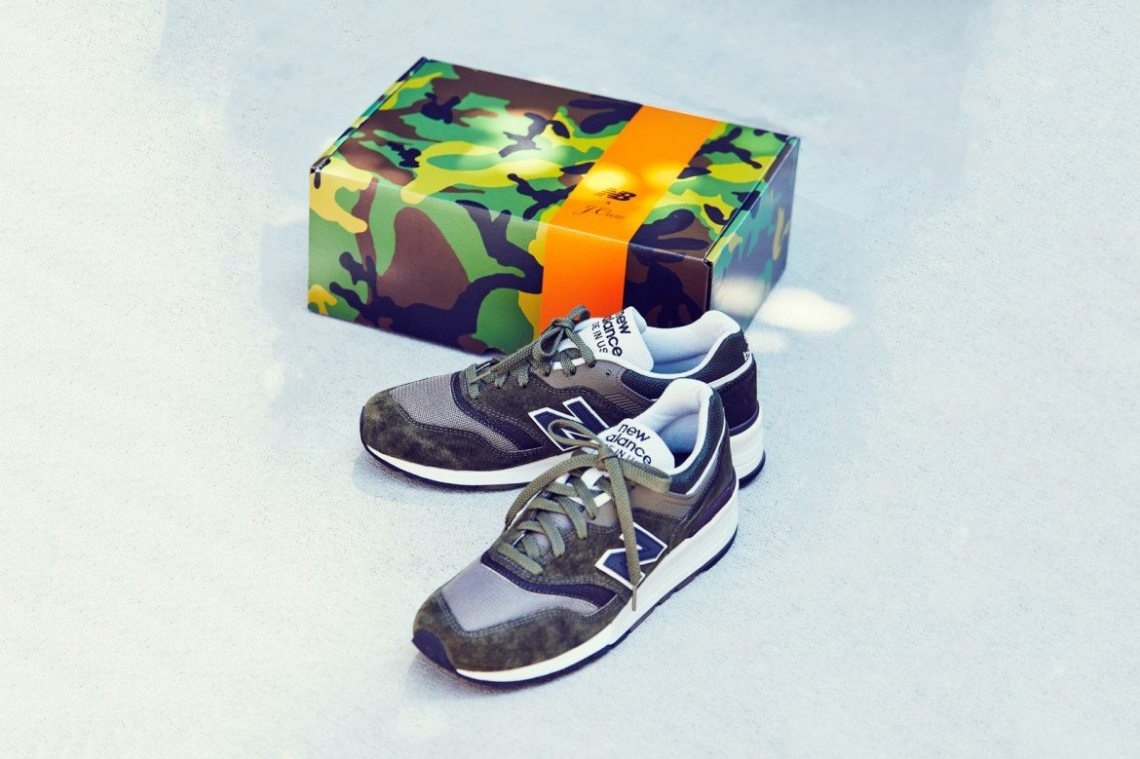 reputable site e950b 6f61a J.Crew and New Balance Join Forces for 997