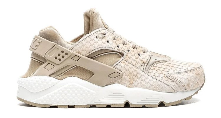 "be3094b4a855 Nike Air Huarache Run Premium ""Linen Snakeskin""    Available Now"