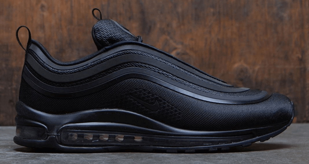 nike air max 97 ultra triple black womens