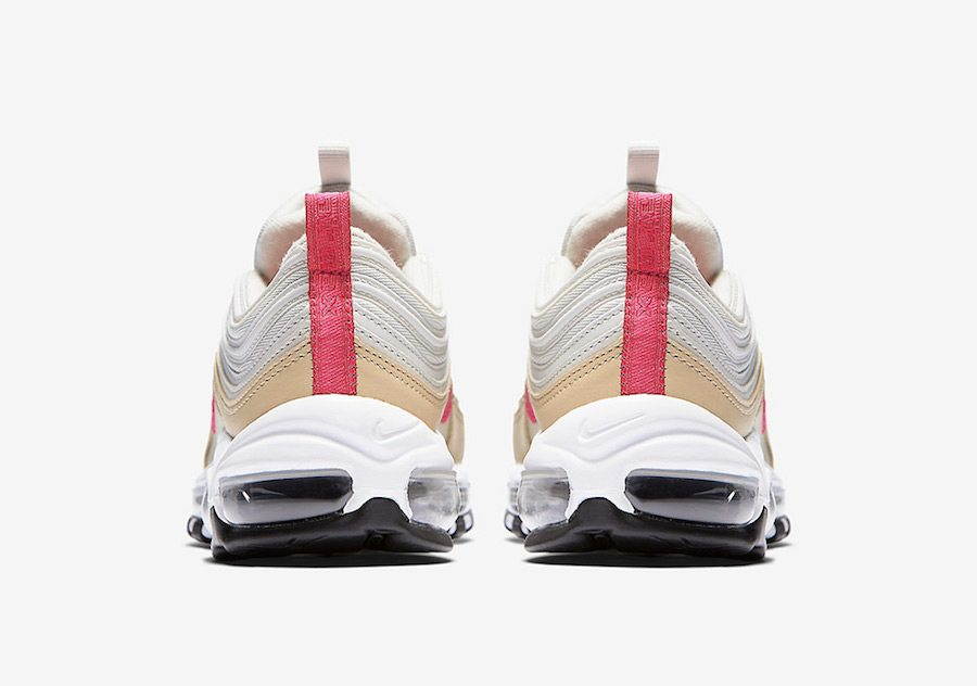 ... Nike Air Max 97 White/Tan-Pink