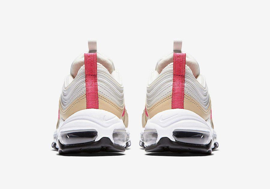the best attitude 2751a 81b96 ... Nike Air Max 97 White Tan-Pink