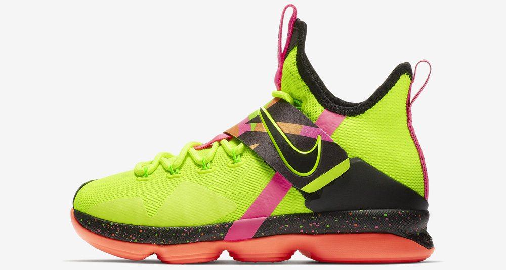 850be9267bf2 Nike LeBron 14 QS
