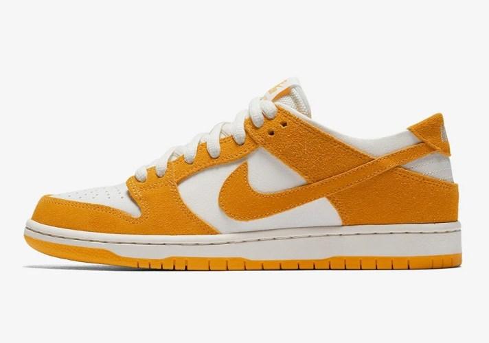 """separation shoes cb17c 5c864 Nike SB Zoom Dunk Low """"Circuit Orange"""" ..."""