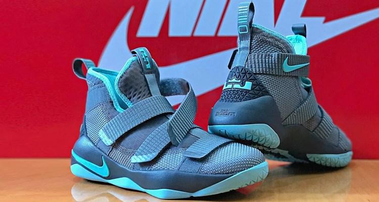 "Nike LeBron Soldier 11 GS ""Island Green"""
