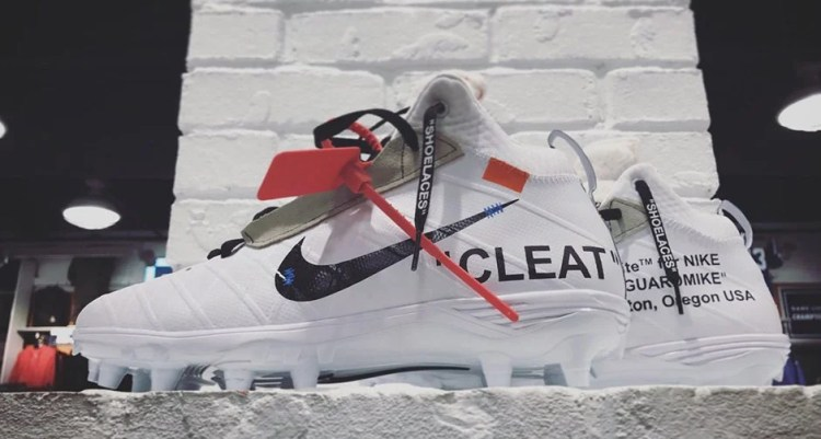 Off-White x Nike Cleats Custom