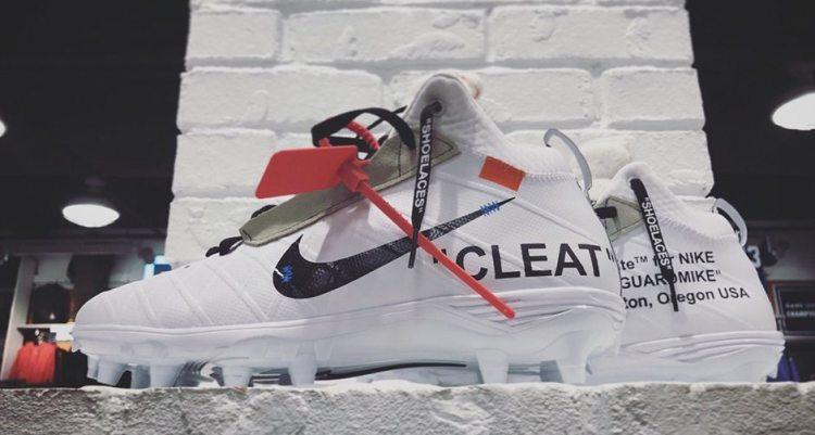 huge discount be6db 2a107 Off-White x Nike Cleats Custom