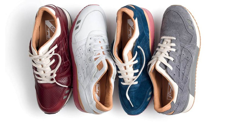 "Packer Shoes x J.Crew x ASICS Gel Lyte III ""1907 Collection"""