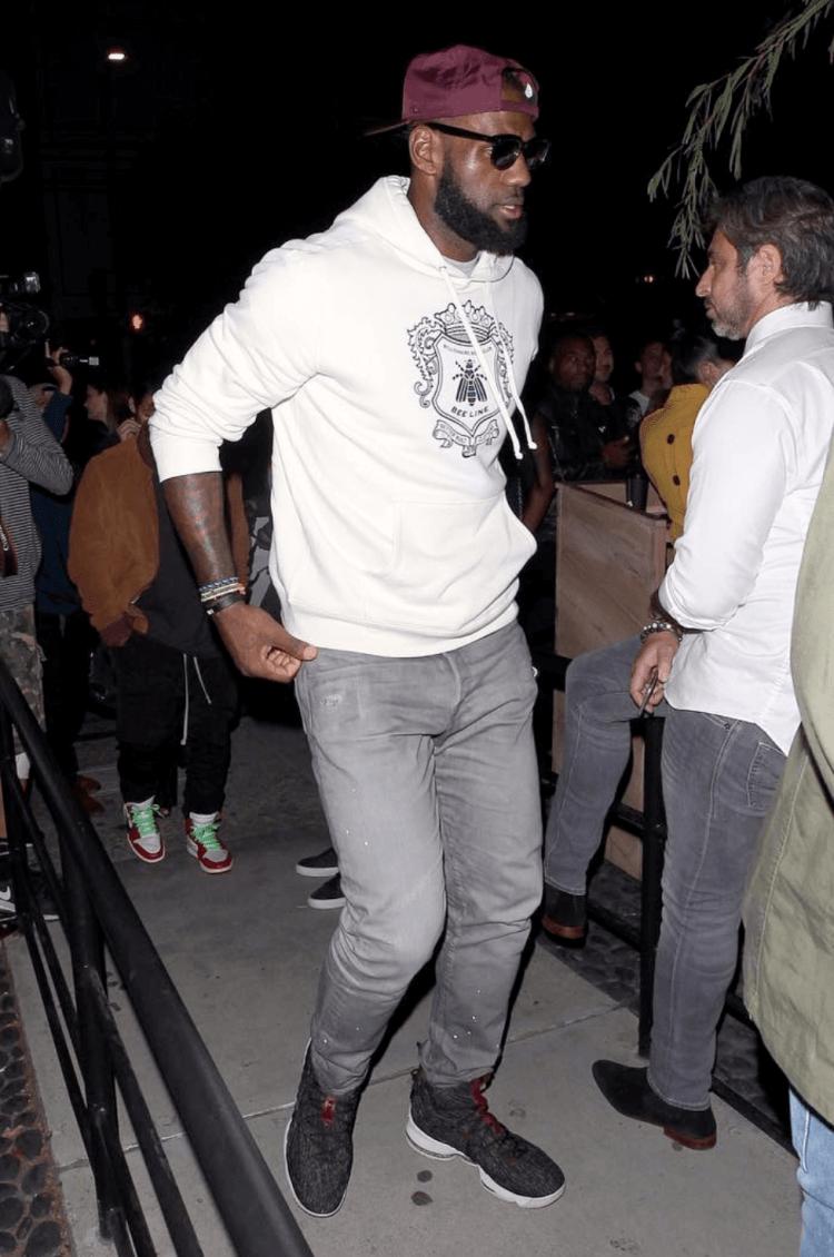 Lebron James in the Nike Lebron 15