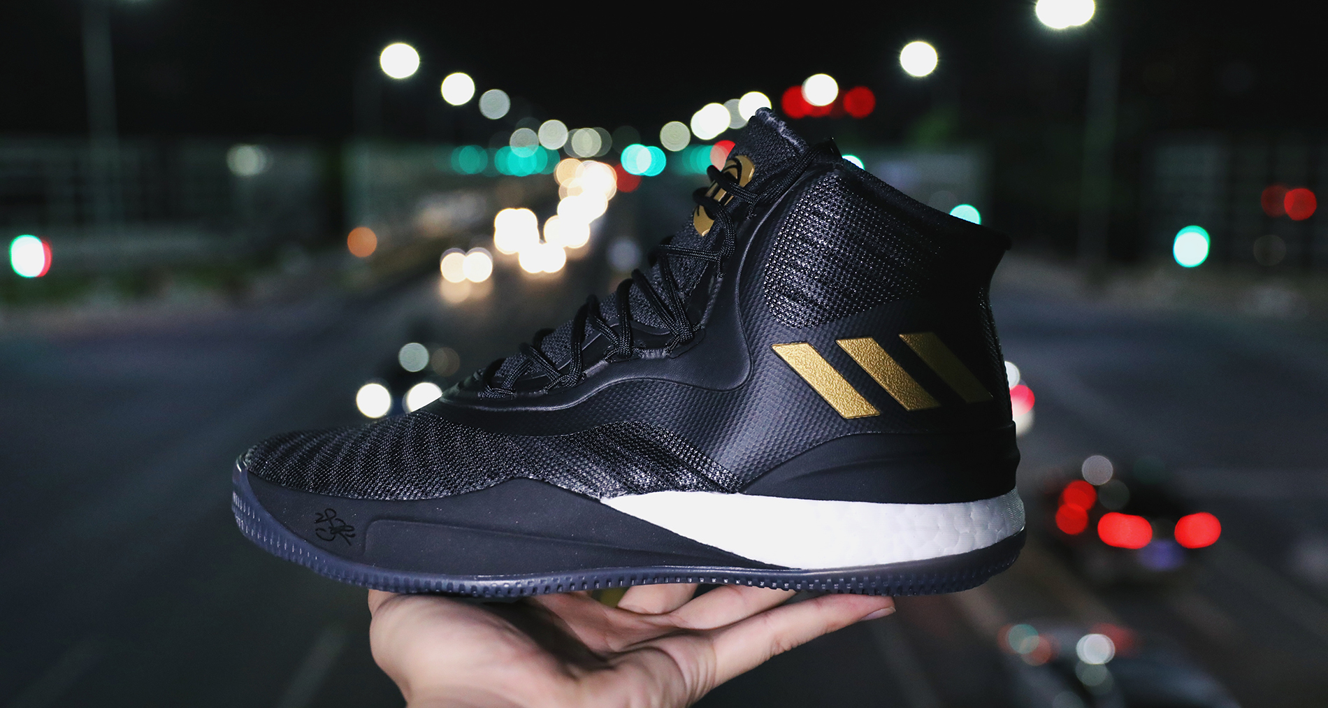 Adidas D Rose negro / Gold Nice kicks