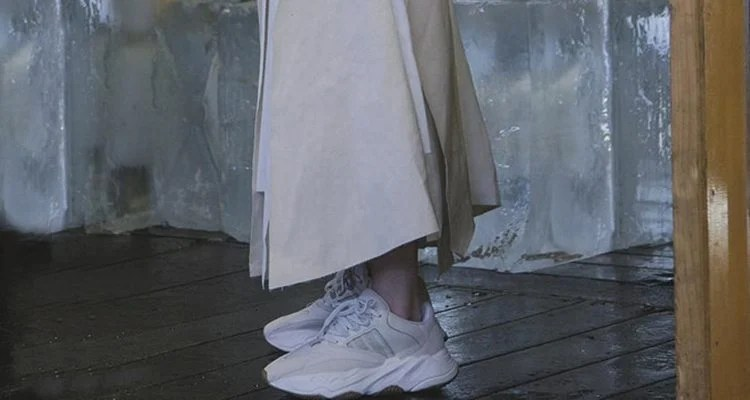 672014a8f2dc8 Kanye West s Yeezy Wave Runner 700 Gets High-Fashion Styling in Vogue  Australia